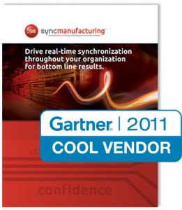 Synchrono SyncManufacturing Software is a Gartner Cool Vendor