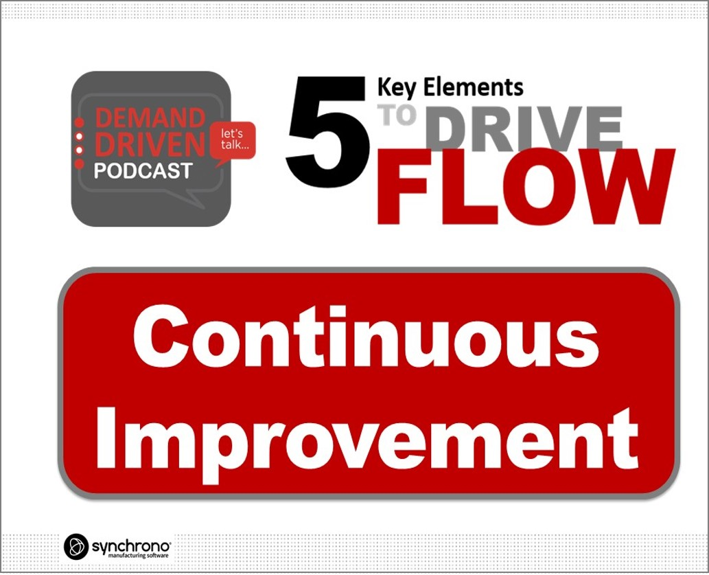 demand-driven manufacturing and continuous improvement