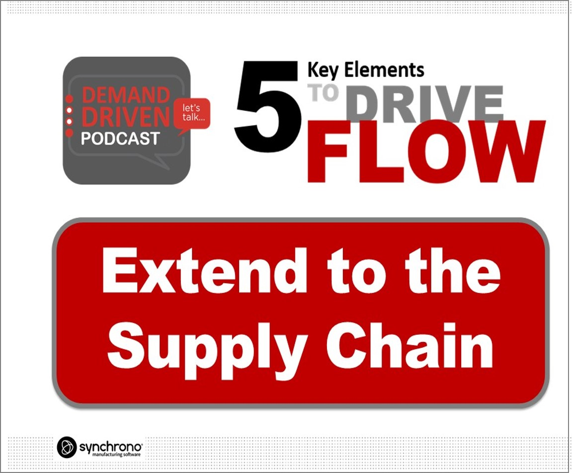 synchronize the supply chain