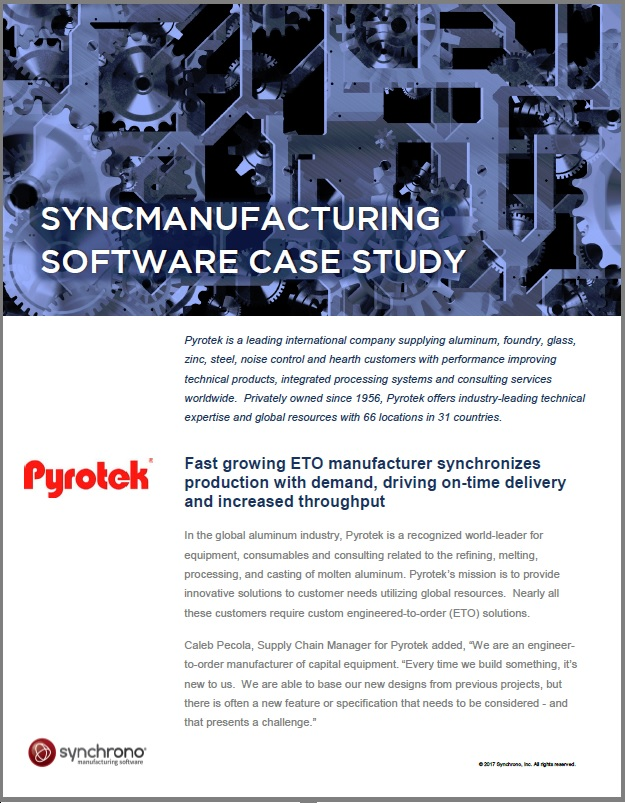 Pyrotek customer case study