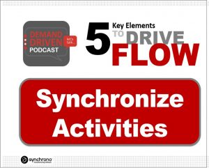 demand-driven synchronization