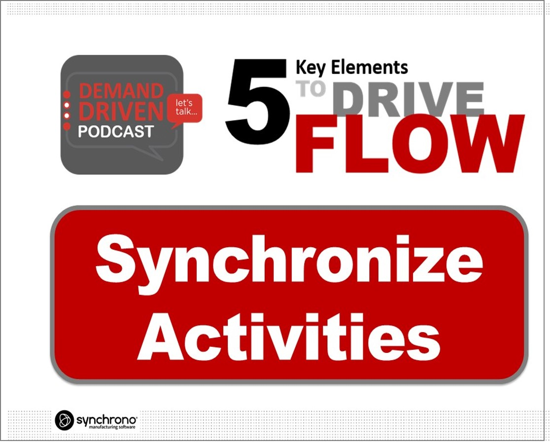 demand-driven synchronization