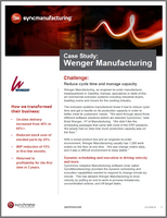 Wenger manufacturing case study