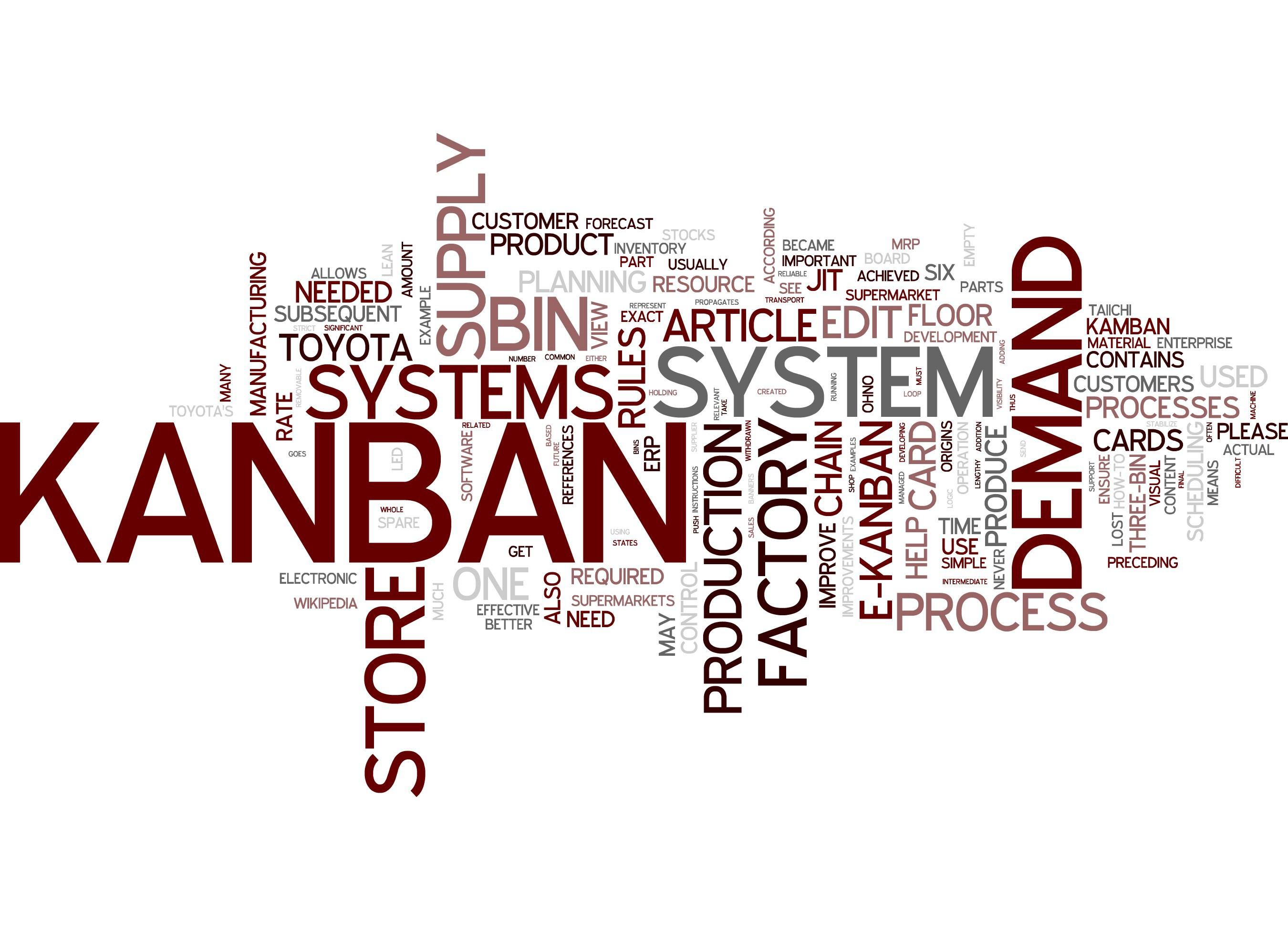 manufacturing kanban