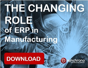 Manufacturing ERP Ad