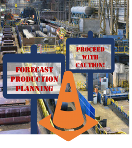 Forecast-based production planning problems