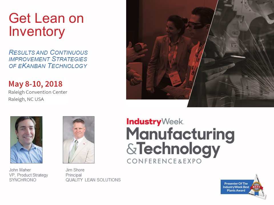 Lean Manufacturing inventory