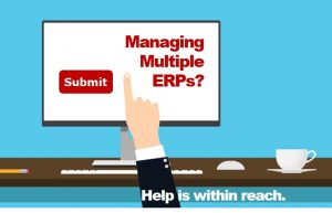 Managing multiple ERP systems