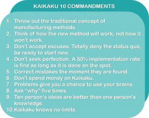 Kaikaku 10 Commandments