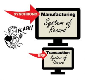 Systems of record in manufacturing