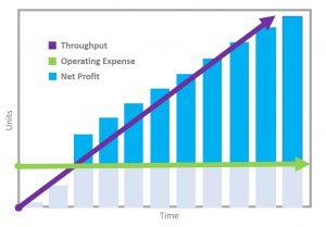 Throughput, operating expense and net profit